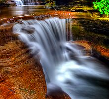 The Buttermilk Cascades 9 (hdr) by tantricpark182