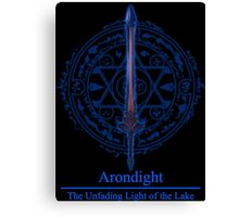 Arondight The Unfading Light of the Lake Canvas Print