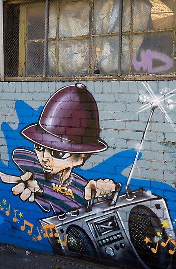 Melbourne Graffiti Artists by Rosina  Lamberti