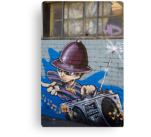 Melbourne Graffiti Artists Canvas Print