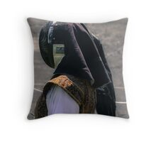 The Headdress  Throw Pillow