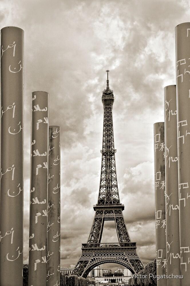 Paix a Eiffel by Victor Pugatschew