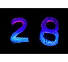28 Photographic Print
