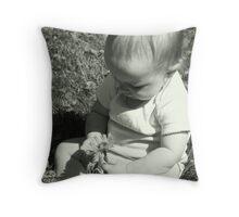 Little Gardener Throw Pillow