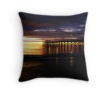 Largs Bay Jetty Throw Pillow