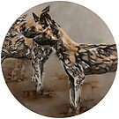 Painted Dogs 1 by JolanteHesse