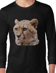 Cheetah Portrait T-Shirt Long Sleeve T-Shirt