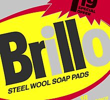 Brillo Box Package Colored 52 - Andy Warhol Inspired by peterpotamus