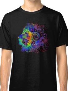 PSYCHEDELIC LION Classic T-Shirt