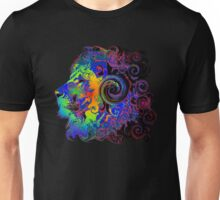 PSYCHEDELIC LION Unisex T-Shirt