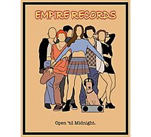Empire Records - Movie Poster Photographic Print