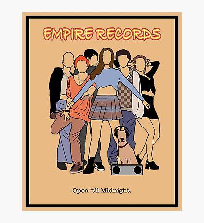 Empire Records - Movie Poster Photographic Print