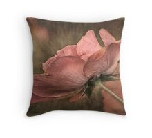 Summer's Last Bloom Throw Pillow