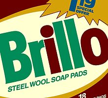 Brillo Box Package Colored 53 - Andy Warhol Inspired by peterpotamus