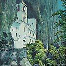 Monastery Ostrog, Montenegro by Sinisa Saratlic