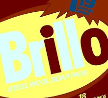 Brillo Box Package Colored 55 - Andy Warhol Inspired by peterpotamus
