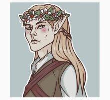 Legolas flower crown by elledontyoudare