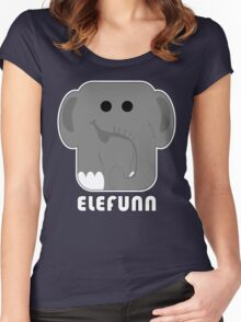 elefunn Women's Fitted Scoop T-Shirt