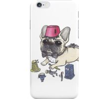 Dr Who French Bulldog iPhone Case/Skin