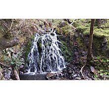 Waterfall Natural Scene Photographic Print
