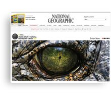 National Geographic  - Contest Banner Canvas Print