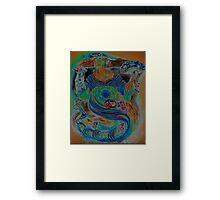 YEMAYA COPPER Framed Print