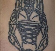 Tribal Warrior Tattoo by Dalton Sayre