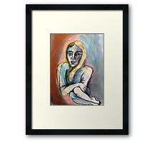 Water Lady Framed Print