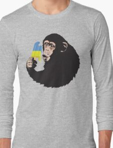 Oooooz Chimp Long Sleeve T-Shirt