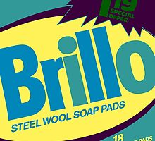 Brillo Box Package Colored 63 - Andy Warhol Inspired by peterpotamus