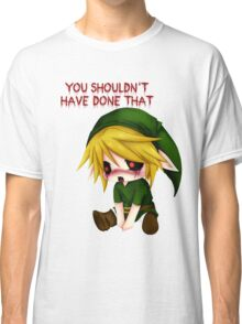 You Shouldn't Have Done That - Creepypasta Chibi Ben Classic T-Shirt