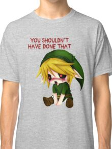 You Shouldn't Have Done That - Creepypasta Chibi Ben Classic T-Shirt
