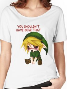 You Shouldn't Have Done That - Creepypasta Chibi Ben Women's Relaxed Fit T-Shirt