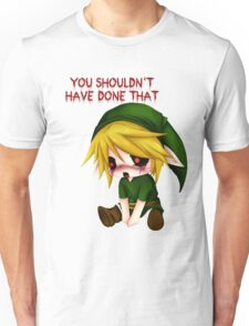 You Shouldn't Have Done That - Creepypasta Chibi Ben Unisex T-Shirt