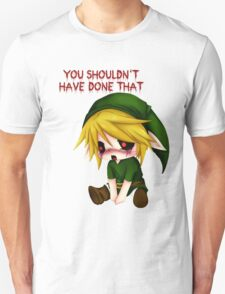 You Shouldn't Have Done That - Creepypasta Chibi Ben T-Shirt