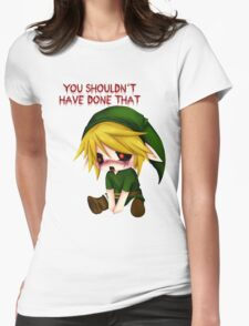 You Shouldn't Have Done That - Creepypasta Chibi Ben Womens Fitted T-Shirt