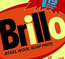 Brillo Box Package Colored 65 - Andy Warhol Inspired by peterpotamus