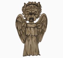 Dr Who- Weeping Angel x French Bulldog Kids Clothes