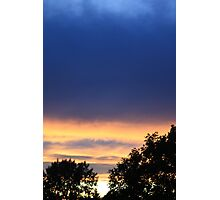 Multi-Coloured Sunset Photographic Print