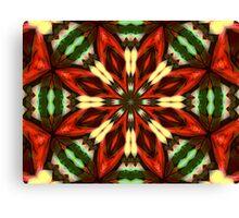 Electric Kaleidoscope Canvas Print