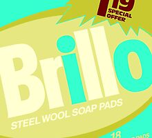 Brillo Box Package Colored 68 - Andy Warhol Inspired by peterpotamus