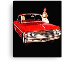 1961 Oldsmobile Canvas Print