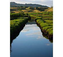 Fijian Canal Photographic Print
