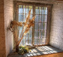 Old Goulburn Brewery Window by Rod Kashubin