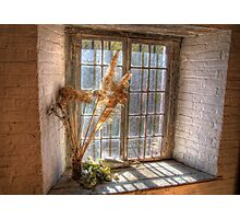 Old Goulburn Brewery Window Photographic Print