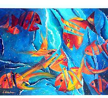 Fractured Fish by Carla Whelan