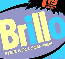 Brillo Box Package Colored 71 - Andy Warhol Inspired by peterpotamus