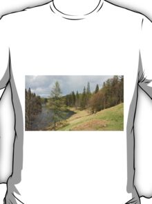 View of Tarn Hows Lake District T-Shirt