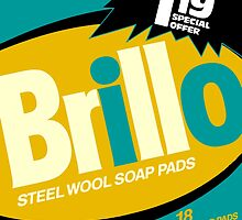 Brillo Box Package Colored 72 - Andy Warhol Inspired by peterpotamus