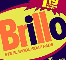 Brillo Box Package Colored 73 - Andy Warhol Inspired by peterpotamus